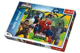 Puzzle Spiderman vs Sinister 6 Disney 260 dílků 60x40cm v krabici 40x27x4cm