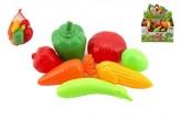 Ovoce a zelenina plast 7ks v síťce