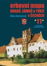 Erbovní mapa hradů, zámků a tvrzí v Čechách 11