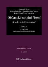 Občanské soudní řízení. Soudcovský komentář. Kniha II