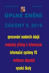Aktualizace V/2 - Úplné znění zákony V. 2019