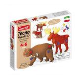 Tecno Puzzle 3D medvěd a los