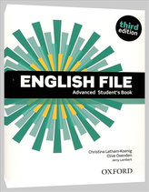 English File third edition Advanced Student´s book (without iTutor CD-ROM)