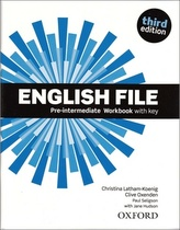 English File 3rd edition Pre-Intermediate Workbook with key (without CD-ROM)