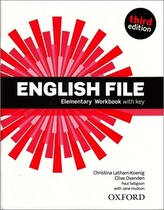 English File 3rd edition Elementary Workbook with key (without CD-ROM)