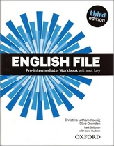 English File 3rd edition Pre-Intermediate Workbook without key (without CD-ROM)