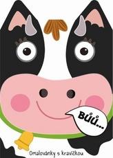 Omalovánky zvířátka Kráva