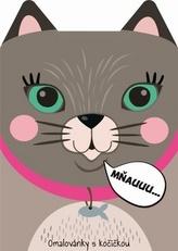 Omalovánky zvířátka Kočka