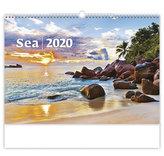 Kalendář nástěnný 2020 - Sea