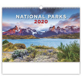 Kalendář nástěnný 2020 - National Parks
