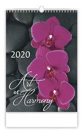 Kalendář nástěnný 2020 - Art of Harmony