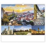Kalendář nástěnný 2020 - Putování po Česku