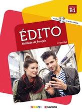 Édito Niveau B1 Učebnice + CD Mp3 + DVD (Ed. 2018)