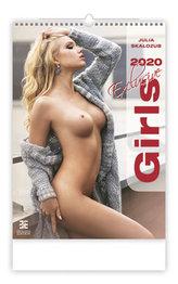 Kalendář nástěnný 2020 - Girls Exclusive