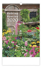 Kalendář nástěnný 2020 - Květiny/Kvetiny