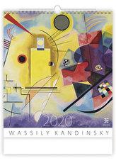 Kalendář nástěnný 2020 - Wassily Kandinsky