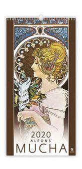 Kalendář nástěnný 2020 - Alfons Mucha