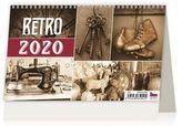 Kalendář stolní 2020 - Retro
