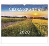 Kalendář nástěnný 2020 - Česká krajina