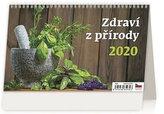 Kalendář stolní 2020 - Zdraví z přírody