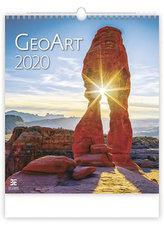 Kalendář nástěnný 2020 - Geo Art