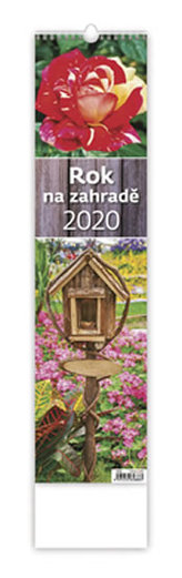 Kalendář nástěnný 2020 - Rok na zahradě