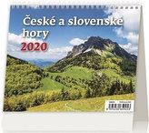 Kalendář stolní 2020 - Minimax České a slovenské hory