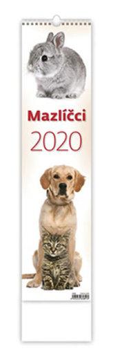 Kalendář nástěnný 2020 - Mazlíčci