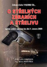 Zákon číslo 119/2002 Sb., o střelných zbraních a střelivu