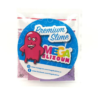 Megaslizoun sada třpytek – 3 druhy Růžová sada třpytek