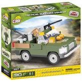 Stavebnice COBI 2157 Small Army Taktické podpůrné vozidlo/90 kostek+1 figurka