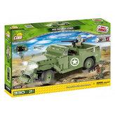 Stavebnice COBI 2368 II World War Obrněné vozidlo M3 Scout Car/330 kostek+2 figurky