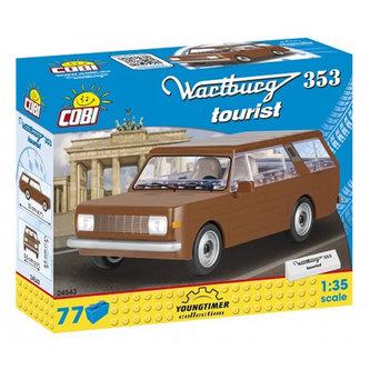 Stavebnice COBI 24543 Wartburg 353 Tourist/77 kostek