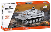 Stavebnice COBI 3000B WORLD of TANKS Tank Tiger I/545 kostek+1 figurka