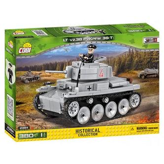Stavebnice COBI 2384 II World War Tank LT vz. 38 PzKpfw 38 t/380 kostek+ 1 figurka