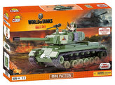 Stavebnice COBI 3008 WORLD of TANKS Tank M46 Patton/525 kostek+1 figurka