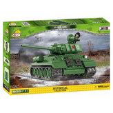 Stavebnice COBI 2476A II World War Tank T34/85/505 kostek+1 figurka