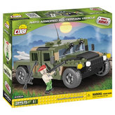 Stavebnice COBI 24304 Terénní vozidlo NATO zelené/255 kostek+1 figurka