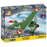 Stavebnice COBI 2976 Great War Stíhací letoun Fokker E.V (D. VIII)/155 kostek+1 figurka