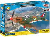 Stavebnice COBI 5518 II World War Stíhací letoun Hawcer Hurricane Mk I/250 kostek+1 figurka