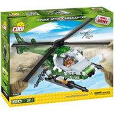Stavebnice COBI 2362 Small Army EAGLE útočná helikoptéra/145 kostek+1 figurka