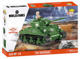 Stavebnice COBI 3007A WORLD of TANKS Tank M4 Sherman/500 kostek+1 figurka