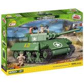 Stavebnice COBI 2475 II World War Stíhač tanků M10 Wolverine/440 kostek+2 figurky
