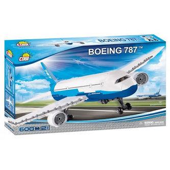 Stavebnice COBI 26600 Boeing Dreamliner/600 kostek+2 figurky
