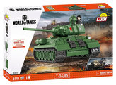 Stavebnice COBI 3005A WORLD of TANKS Tank T34/85/ 500 kostek+1 figurka