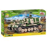 Stavebnice COBI 2496 II World War Tank Panzerjager Tiger SdKfz 184 Ferdinand/515 kostek+2 figurky