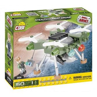 Stavebnice COBI 2151 Small Army Bojový dron/60 kostek+1 figurka