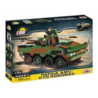 Stavebnice COBI 2616 Small Army Obrněný transportér KTO Rosomák/442 kostek+1 figurka