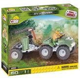 Stavebnice COBI 2150 Small Army ATV s avangerem/60 kostek+ 1 figurka
