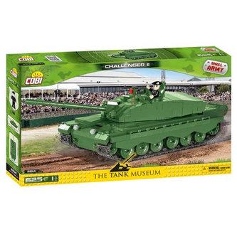 Stavebnice COBI 2614 II World War Tank Challenger/225 kostek+1 figurka